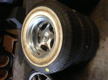 BUDNIK WHEELS WITH COKER CLASSIC TIRES NEW - $700 (BUENA PARK,CA)