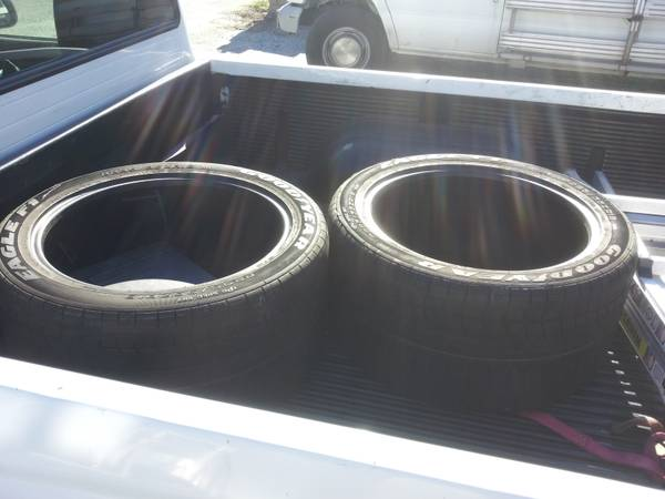 2 goodyear p29535zr18 - $100 (capistrano beach )
