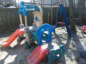 LITTLE TIKES SWINGSET VARIETY CLUBHOUSE CLIMBER - $325 (Fullerton)