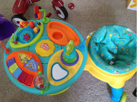 Bright Starts Around we go Activity center walker - $40 (La Habra Ca (Beach Imperial))