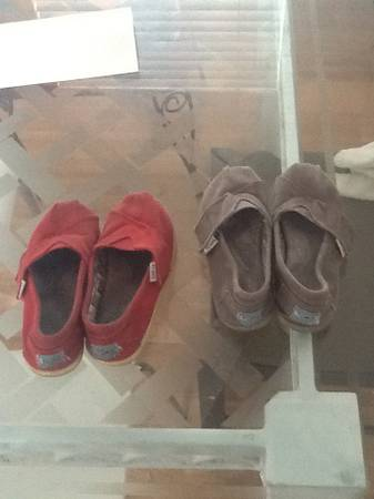 Toms toddler shoes (2 pairs) - $10 (Huntington Beach )