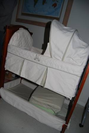 Baby Bassinet - Eddie Bauer (Rocking) - $65 ((Dana Point Huntington))