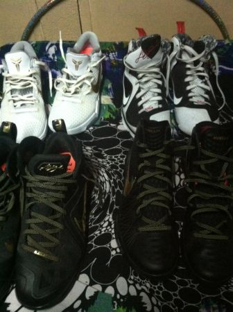 sell or trade NIKE lebron, hyperdunk, kobe size 11.5 - $1 (OC)