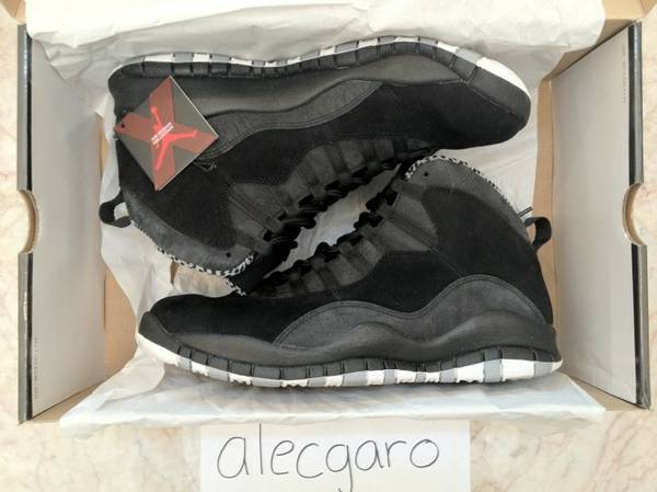NEW JORDAN 10 X RETRO STEALTH SZ 11 - DEADSTOCK W OG BOX ALL - $220 (Orange County and surrounding areas)