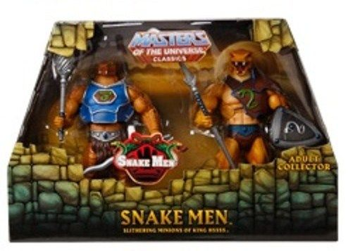 He-Man Masters of the Universe Classics MOTUC Snake Men Frosta She-Ra - $25 (Anaheim, CA)