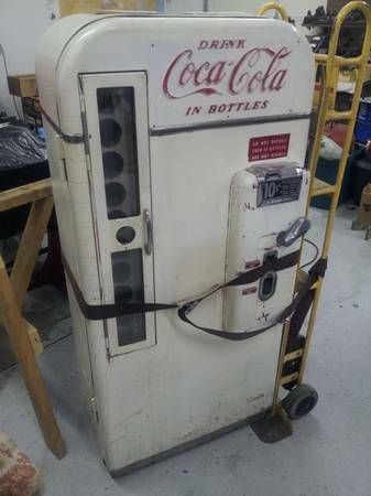 1950s Vendo model 81a Coke machine - $1800