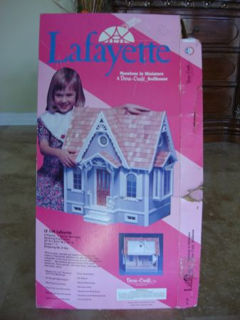 Lafayette LF140 Dura-Craft Mansions in Miniature Dollhouse Scale 11 - $45 (Westminster HB Fountain Valley)