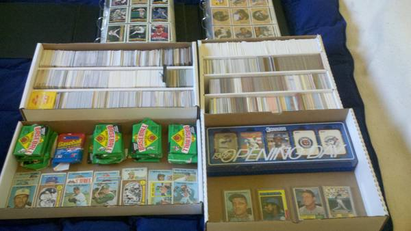 BASEBALL, FOOTBALL, AND BASKETBALL CARD COLLECTION MUSIAL,AARON,MARIS - $75 (Mission Viejo, Ca)