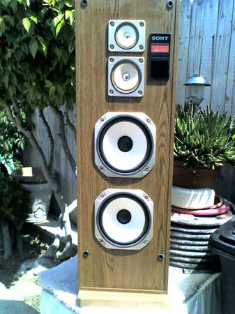 SONY 3-WAY FLOOR SPEAKERS - $75 (DANA POINT, CA)