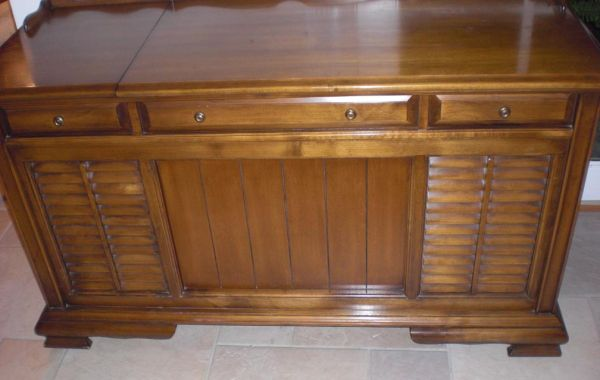 Vintage Mid Century Teledyne Packard Bell STEREO CONSOLE Record Player - $35 (Huntington Beach)