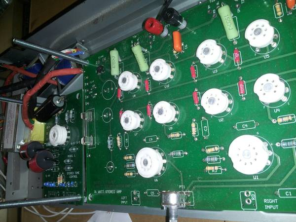 Unfinish Tube Amplifier with Tone Control - $200 (562)