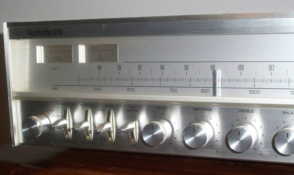 Quadraflex 777 Home Stereo Tuner Receiver - $50 (Huntington Beach)