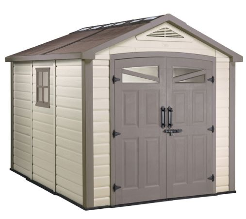 Keter Orion Storage Building shed - $900 (PRICE IS FIRM Cypress)