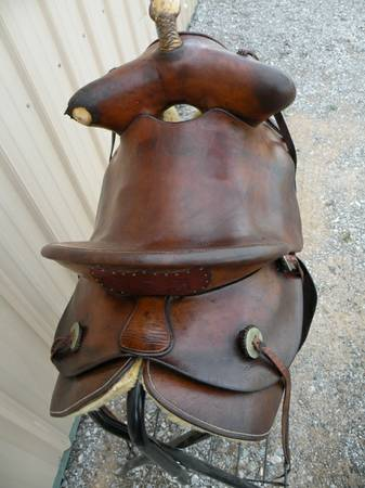 Old Makers Sted Fred Mueller Beartrap Formfitter Saddle - Good Cond - $995 (Oklahoma City, OK)