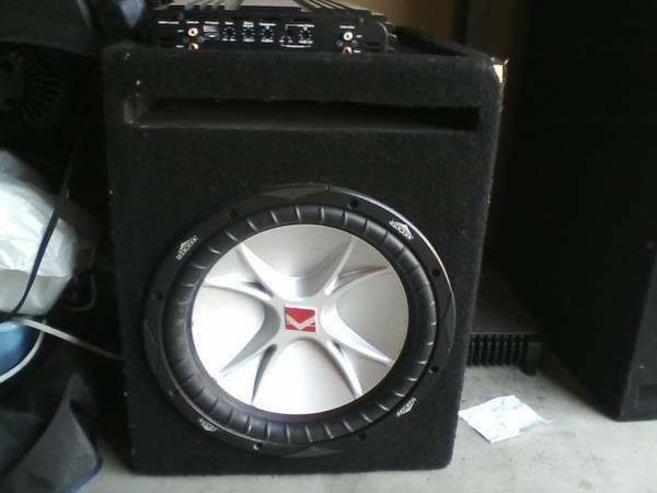 12 inch kicker CVR an 1000w - $150 (Orange County)
