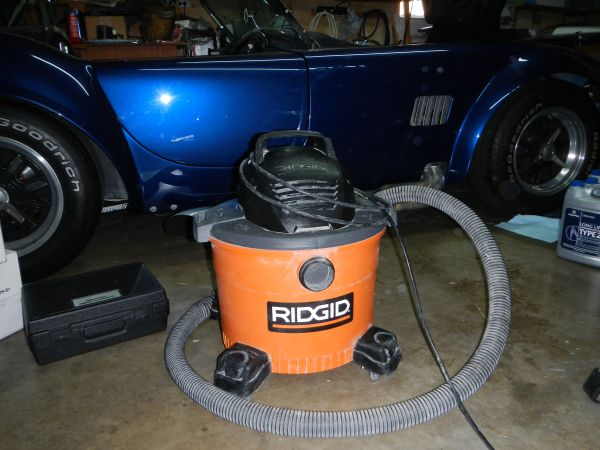 Ridgid Shop Vacuum 9 US Gallon - $40 (Costa Mesa, Ca)