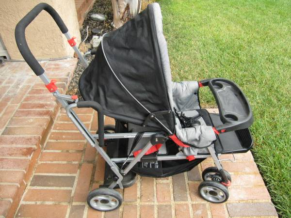 Joovy Stand up and sit down stroller, dual two kids carrige - $65 (Mission Viejo)