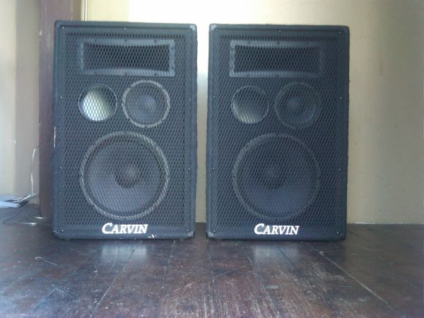 PA Speakers, Carvin TR 1503, 3-Way Speakers - $350 (San Clemente)