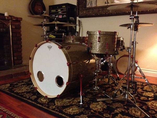 Battlefield Custom Drumkit - $1000 (Fountain Valley)