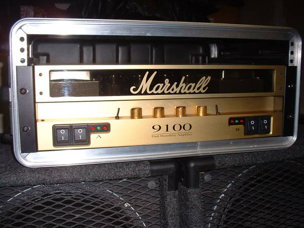 Marshall stereo tube power and case . . . (westside)