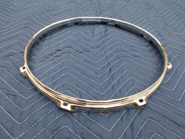 DRUM RIM HOOP (1) 13 8 Hole Snare Side - $10 (Fullerton)