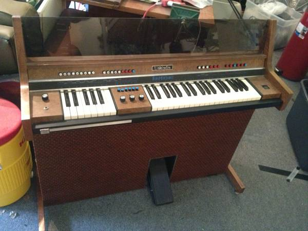 Keyboard, Electric Organ, Baldwin Fun Machine, 60s Jewel, funky funk - $90 (San Clemente)