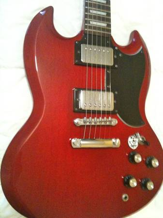 GIBSON SG Candy Apple Red - $195 (Cypress)
