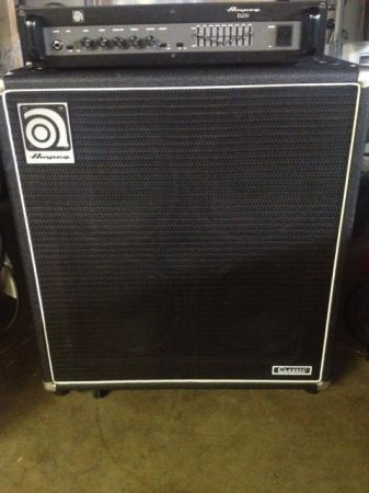 Ampeg half stack. BR2 and SVT410HE - $700 (Orange County)