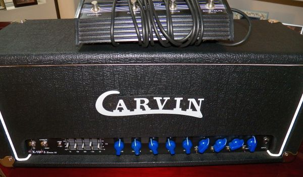 Carvin X100B Series IV ALL Tube Guitar Head New Version Baby OTW - $475 (Orange County, Laguna Beach)