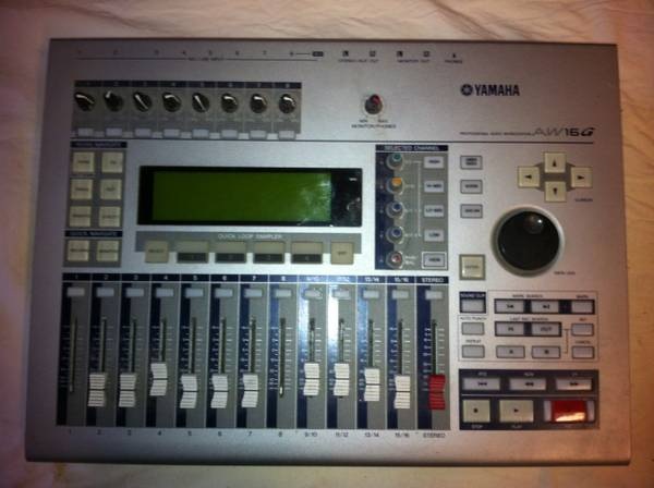 Yamaha AW16G Digital Audio Workstation - $400 (Laguna Beach)
