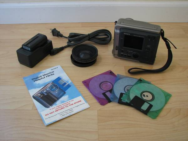 Sony Mavica MVC-FD7 - $15 (Seal Beach)