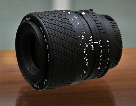 Sigma 50mm f2.8 AF Macro for Nikon Film or DSLR - $165 (Stanton)
