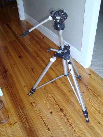Bogen Manfrotto 3036 Tripod with 3063 Fluid Head - $150 (Fountain Valley)
