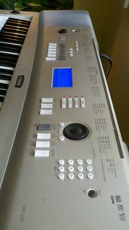Yamaha ypg 225 portable grand for sale for Yamaha ypg 535 weighted keys