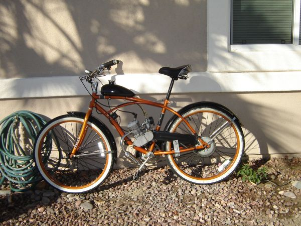 gas powered bicycle - $500 (Palm Desert, CA.)