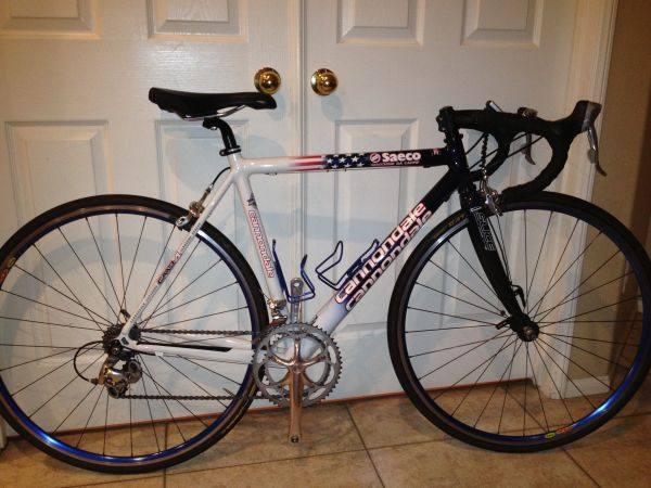 CANNONDALE CAD4 ROAD BIKE - $750 (RANCHO CUCAMONGA)