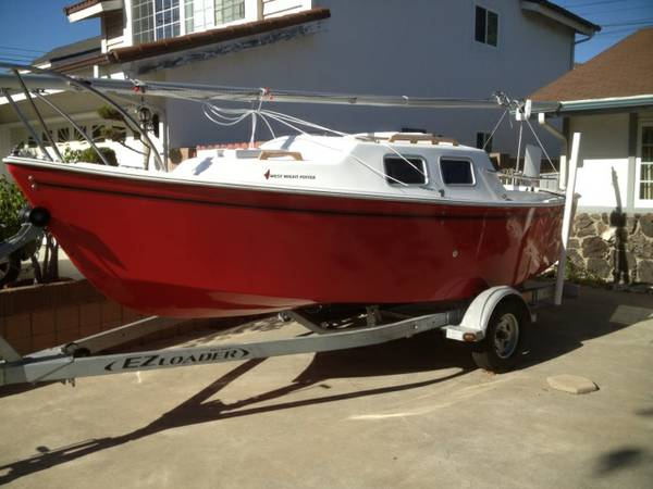 Brand New West Wight Potter 19 Sailboat - Save Yourself Thousands $$$ - $19000 (Los Angeles)