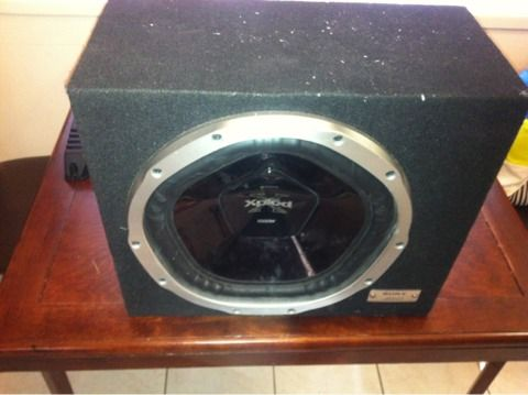 Sony Xplod sub and - $80 (Coachella Valley)