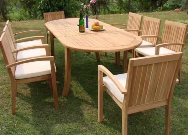 NEW TEAK Outdoor Set (Palm Desert)