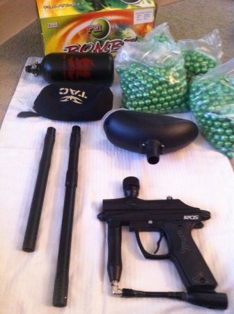 Paintball Machine And More - $400 (Palm Desert)