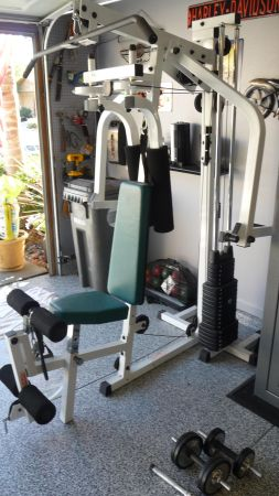 Universal Home Gym by Pacific Fitness - $350 (La Quinta)