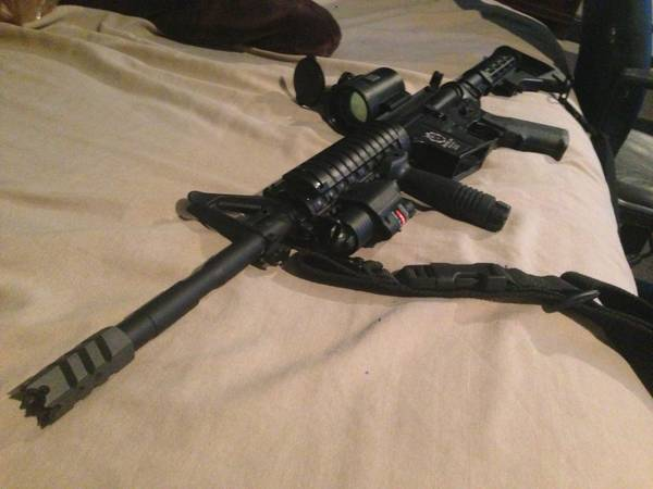 M4 M16 Airsoft Gun FOR SALE - $150170 (Cathedral city)