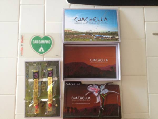 COACHELLA CAMPING PASS - $775 (Palm Springs)