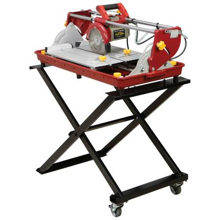 WET TILE SAW 7 WCART NIB, CHICAGO - $135 (NORTH INDIO)
