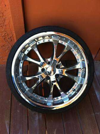 20 inch wheels for Sale - $600 (Corona)