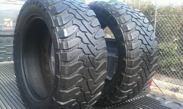 33x12.50R20 MS Toyo Open Country Mud Terrain Tires - $285 (Redlands,Ca)