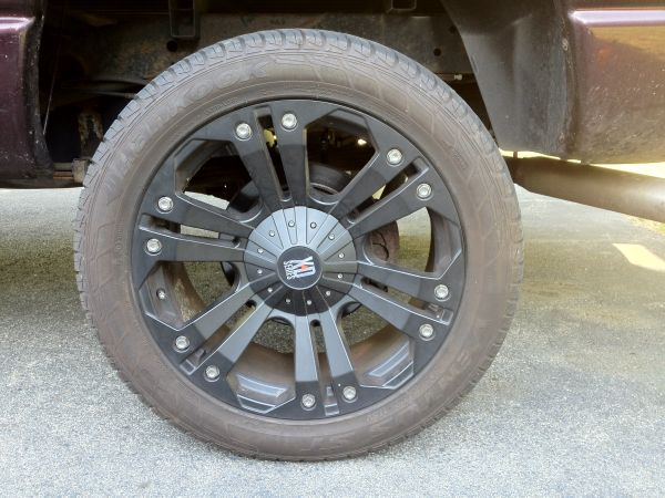 XD Series Rims and Tires - $900 (29 Palms)