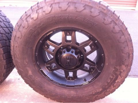 (8x170(FORD) 17 XD WHEELS TIRES - $850 (inland empire san jacinto )