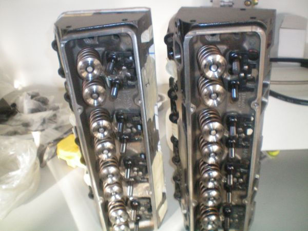 215 SBC DART IRON PLATINUNM HEADS - $1599 (palm desert)