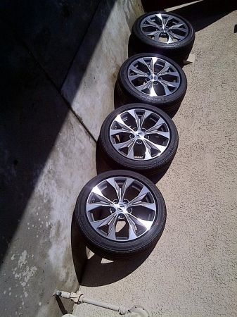 2012 OEM Honda Civic Si 17Rims Wheels - $1450 (PALM SPRINGS)